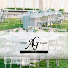 AVANT GARDE Rentals - Ενοικίαση Εξοπλισμού Εκδηλώσεων - Εξοπλισμός Εκδηλώσεων & Δεξιώσεων Γάμου